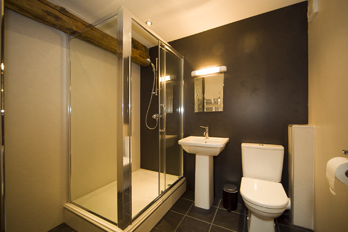 Limousin en-suite shower room